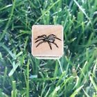 Hero Arts Garden Spider Rubber Stamp Wooden Mounted