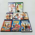 8 Exercise Workout DVD Carribean Power Half Hour Yoga Ball Biggest Loser Dancing