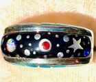 NASA Comet Outer Space Opal Turquoise Ring 85 9 Sterling Silver 925 gemstone