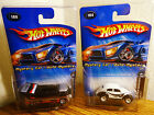 HOT WHEELS 2005 VW MYSTERY VW BUS DRAG TRUCK  CLASSIC VW BUG REAL RIDERS RARE