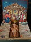 Vintage 1958 Ideal The Most Wonderful Story Pop Up Nativity baby Jesus