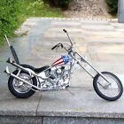 1 4 Easy Rider Harley Davidson Built Motorcycle The Captain America Metal Model