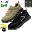 Men Work Safety Shoes Composite Toe Boots Indestructible Construction Sneakers