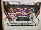 2018 PANINI CERTIFIED FOOTBALL FACTORY SEALED HOBBY BOX!! LOADED!!