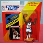 1992 PATRICK EWING New York Knicks NM * FREE s/h * Starting Lineup with poster