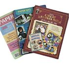 Scrapbooking Magazines  Book Lot Layouts Techniques Journaling Styles How tos