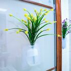Wall Hang Silicone Sticky Vase Rubber Silicone Sticky Flower Bottle Home Wall
