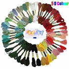 DIY Magic Craft Tools Punch Needle Embroidery Pen Set Plastic Threaders 50 Color