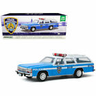 GREENLIGHT 1 18 1988 FORD LTD CROWN VICTORIA WAGON NYPD POLICE DIECAST CAR 19062
