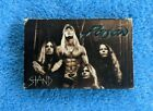 POISON Stand Cassette Tape Single 1993 Rock Hair Metal Native Tongue The Scream