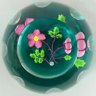 WHITEFRIARS CAITHNESS LTD EDITION DOG ROSE GLASS PAPERWEIGHT NO 18 of 100