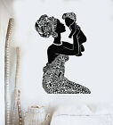 Vinyl Wall Decal African Native Woman Mother With Baby Nursery Stickers g2836