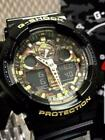CASIO G-SHOCK GA-100CF-1A9JF Camouflage Dial Series Military Design