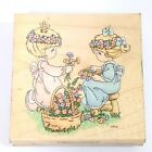 Precious Moments Rubber Stamp Friendship Blooms Rubber Stampendous 1995 Flowers