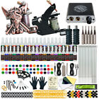Dragonhawk Tattoo Kit Set 40 color Inks Power Supply 2 Machine Guns Needles Tips