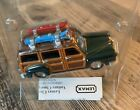 BEACH WAGON WOODY Lemax Village Classic Car Battery Operated Tested & Working