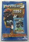 1994 TOPPS FINEST Football Series 1 NFL HOBBY BOX Trading Cards SEALED Unopened