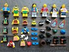Lot of LEGO Minifigure Vintage PIRATE & Islanders Replacement Parts Accessories