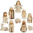 Raz Imports Tidings Of Joy 25 Nativity Set of 10
