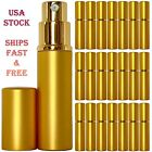 Empty Perfume Bottle Glass 6ml Top Quality Atomizer Spray Gold Refillable Decant