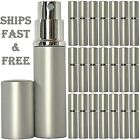 6 ML HIGHEST QUALITY Atomizer Spray Perfume Cologne Silver Bottle Refillable USA