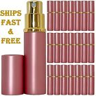Empty Perfume Bottles Glass 6ml Top Quality Atomizer Spray Pink Refillable