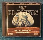 Holst The Planets Music CD Dallas Symphony Eduardo Mata Pro-Arte 1987 - Scarce