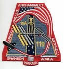 STS 119 Space Shuttle DISCOVERY Mission NASA 4 1 2 Patch
