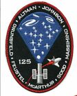 STS 125 Space Shuttle ATLANTIS Mission NASA 5 Patch