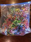 Large Unexplored Lot of Silly Bandz Shaped Rubber Bands