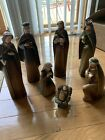 Nativity Holy Family 7 Piece Set 11 Inches Tall