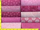 I Love Pink Jelly Roll 40 25 Strips Quilting  Sewing Fabric