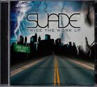 SUADE - Twice The Work LP (CD Album 1999) Rare Bay Area Rap Cali G-Funk Fresno