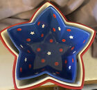 Temp tations Set of Three Star Shaped Nesting Baker Bowls Red White Blue
