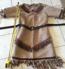 native american indian costumes female and child