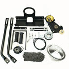 motorized bike engine mounting kit backseat mounting parts without motor