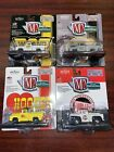Lot Of 4 M2 1 64 Ford F 100 Trucks NIP Weiand Hays Hooker Holley Die cast