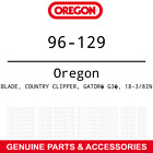 Oregon 96 129 18 3 8 G3 Gator Mulching Blade Country Clipper SR1025 3 PACK