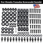 US Motorcycle Complete Fairing Bolts Screws Kit Well Nuts For Yamaha YZF R1 R6