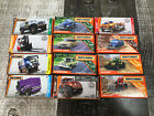 Matchbox Lot of 12 Power Grab MBX Rescue Construction Service Off Road Trip NEW