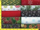 Christmas Sparkle Jelly Roll 40 2 1 2  Strips Quilting  Sewing Fabric 101