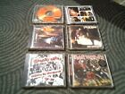 lot of 6 rock cds