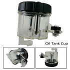 1pc Motorcycle Brake Clutch Master Cylinder Fluid Reservoir Oil Tank Cup Part