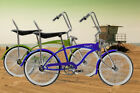 New Lowrider Cruiser Bicycle with 140 Spokes Fan Banana Seat Classic Style Bike