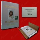 Becoming SIGNED Michelle Obama 2019HCDeluxe Edition BRAND NEW SEALED