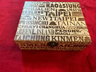 Musical Journey Around Taiwan 4 CD WOOD BOXED SET Wind String Percussion Vocal