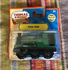 Tomy Wooden Thomas Train Square Funnel Peter Sam! New
