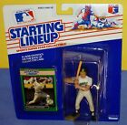 1989 CARNEY LANSFORD Oakland Athletics A's NM * FREE s/h * Starting Lineup
