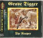 Grave Digger - The Reaper Japan CD w/ OBI (Autographed by Chris Boltendahl)