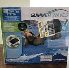 Summer Waves Salt Water System for Above Ground Pools Touch LED Display 7000gal